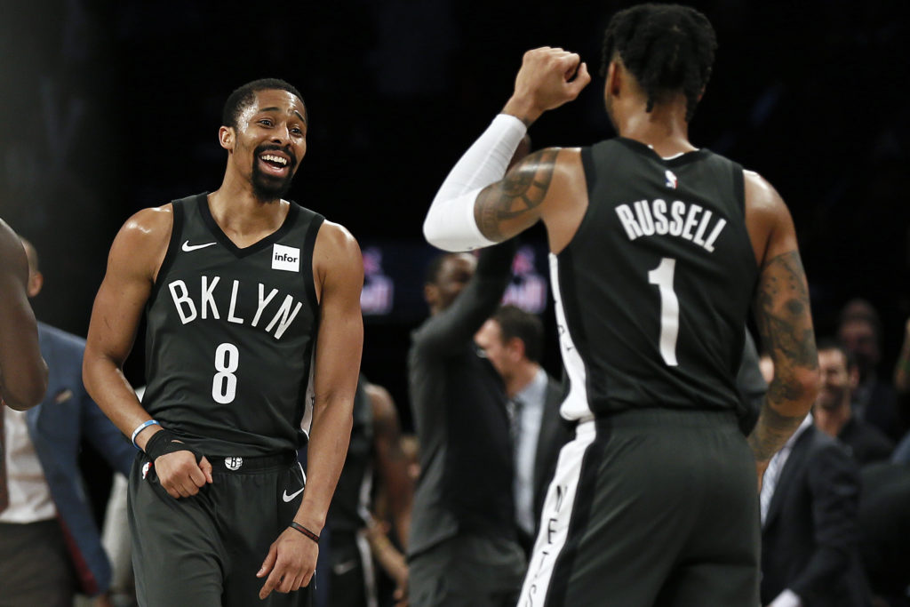 Russell and Dinwiddie Displaying 'Altruism'