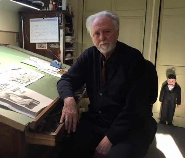 The author, Bill Griffith. Photo by Diane Noomin