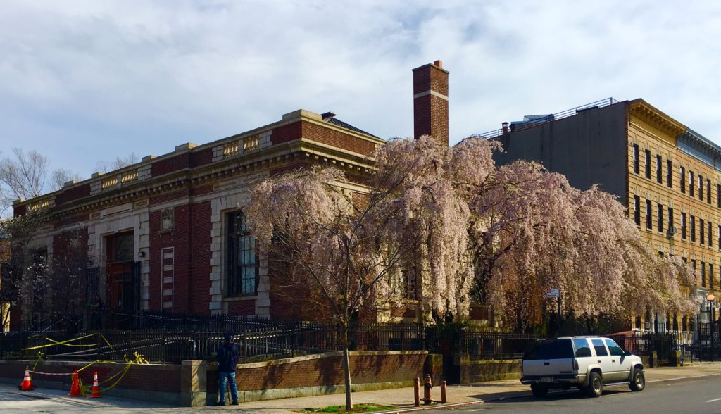 The Brooklyn Public Library's DeKalb Branch. Eagle photo by Lore Croghan