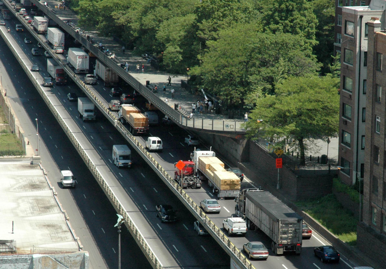 The Department of Transportation announced its plans to reconstruct a segment of the BQE last fall. Eagle file photo by Don Evans