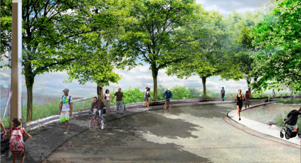 The new park in East New York will be the third largest park in Brooklyn after Marine Park and Prospect Park.