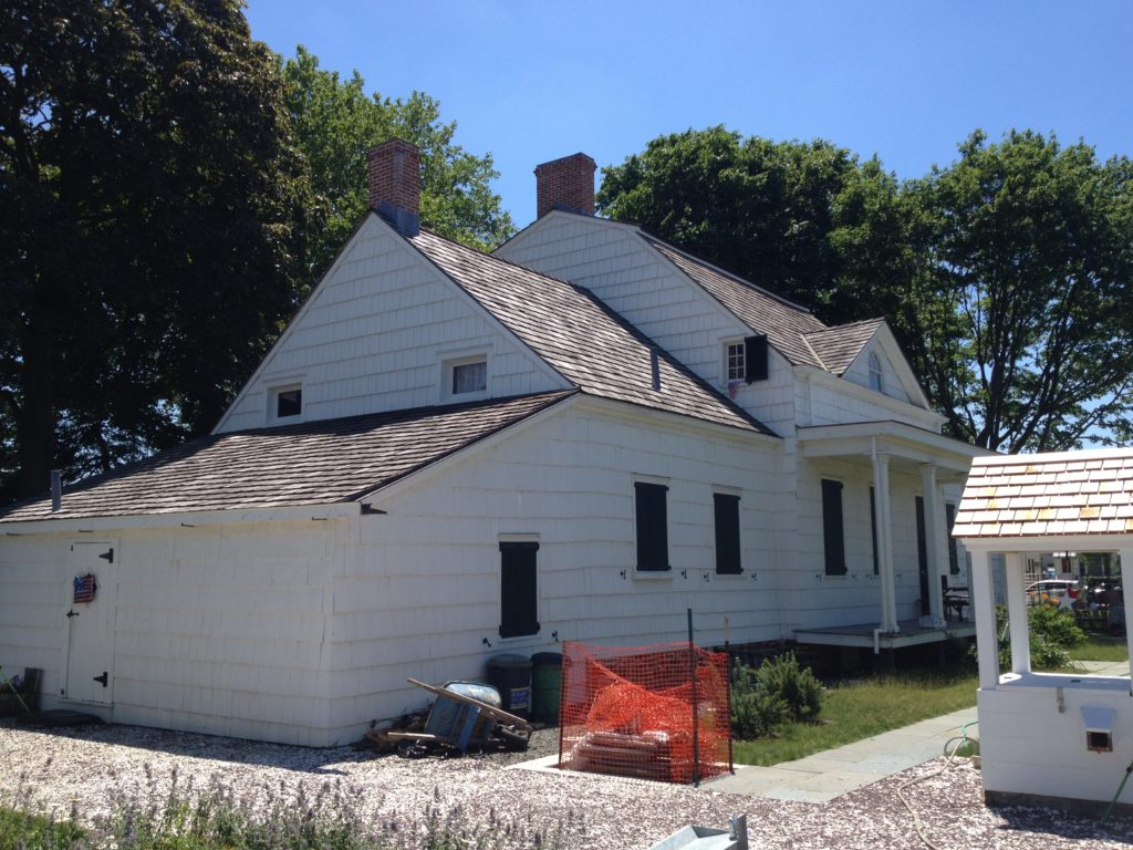 This is Marine Park's Hendrick I. Lott House. Part of it was built in 1720. Eagle file photo by Lore Croghan