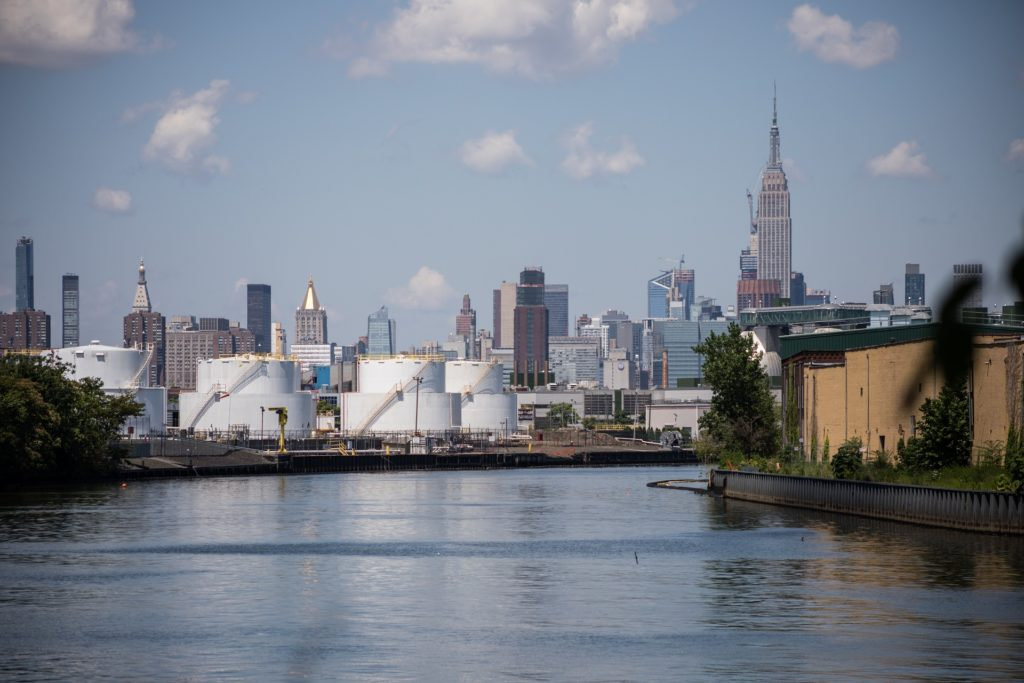 Could constructed wetlands clean up Newtown Creek?