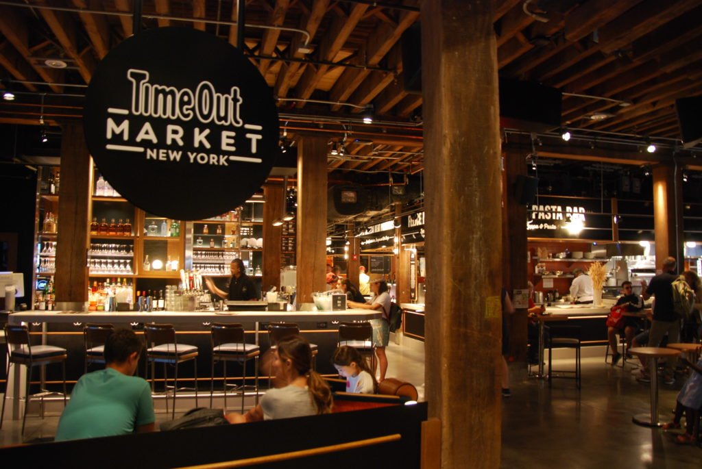 Vendors at DUMBO's Time Out Market reopen after health