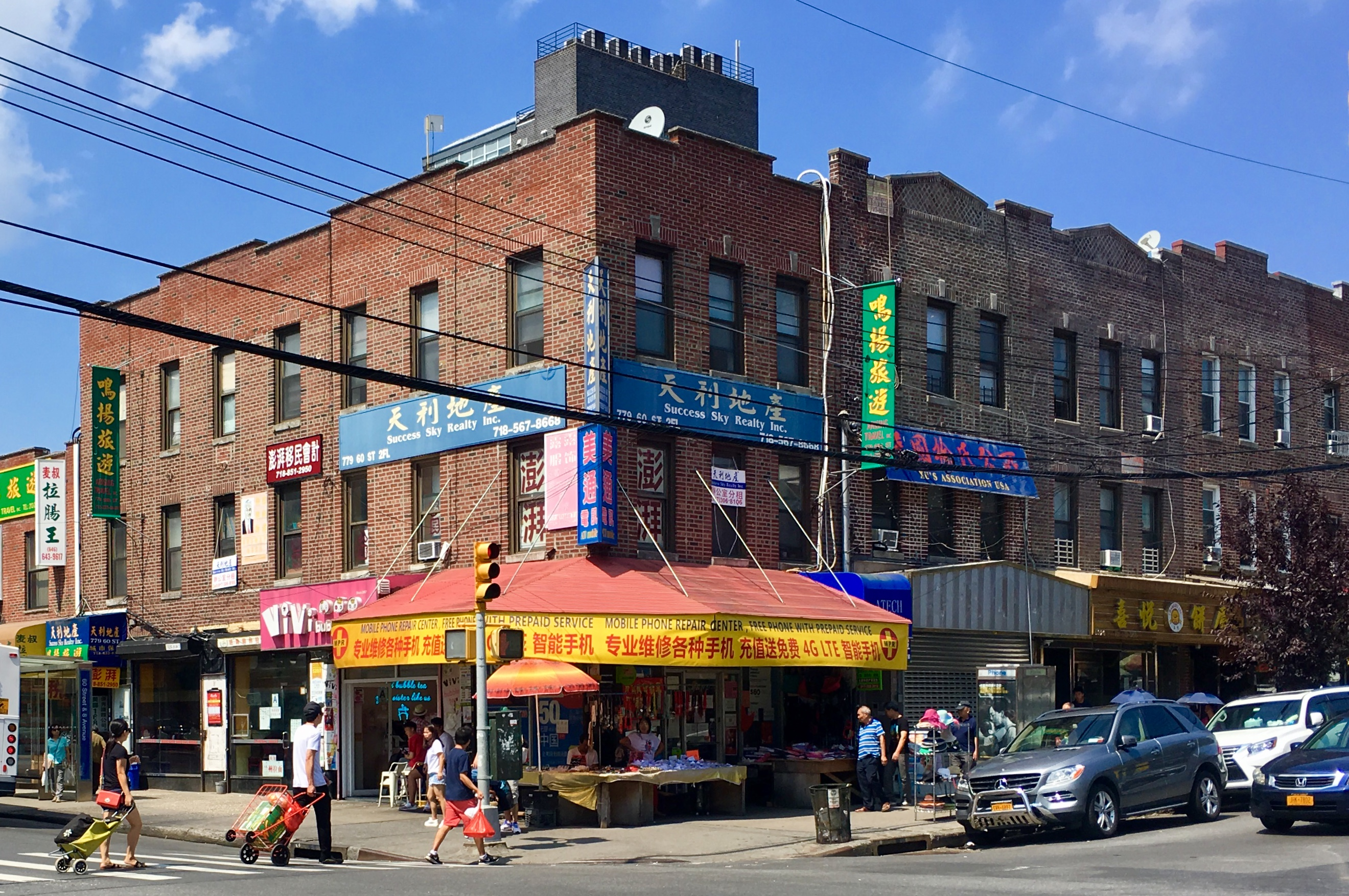 Eighth Avenue is bustling but there's a comforting small-town vibe. Eagle photo by Lore Croghan