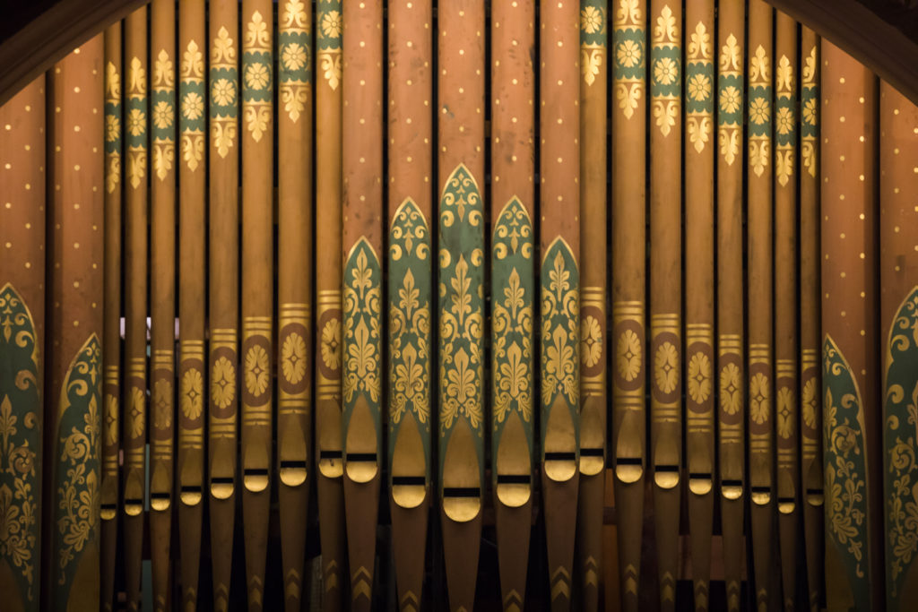 The American Guild of Organists Brooklyn chapter held a six-organ tour around Brooklyn on Sept. 7. Eagle photo by Paul Frangipane