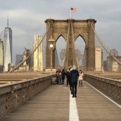 I'm going to greet the dawn of a new decade on the Brooklyn Bridge. How about you? Photo: Lore Croghan/Brooklyn Eagle