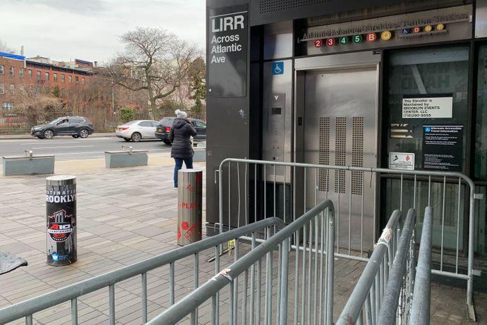 Barclays center elevator